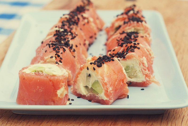 Lullaby & La La: Lakserulle med wasabi