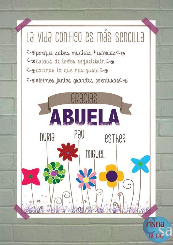 lámina dia de la madre para la abuela | favorite | Pinterest | La ...