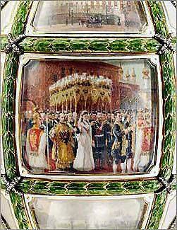 Egg Fifteenth anniversary of reign of Faberge 1911