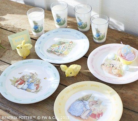 Peter Rabbit Plates & Peter Rabbit Plates | Easter | Pinterest | Peter rabbit Rabbit and ...