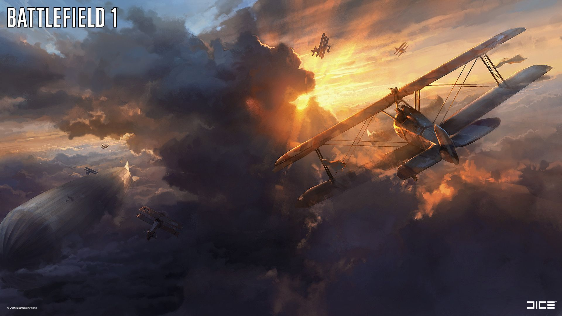 Despite Being Set In One Of The Darkest Periods Of Human History Battlefield 1 Is A Beautiful Video Game Matching The G Battlefield 1 Battlefield Concept Art