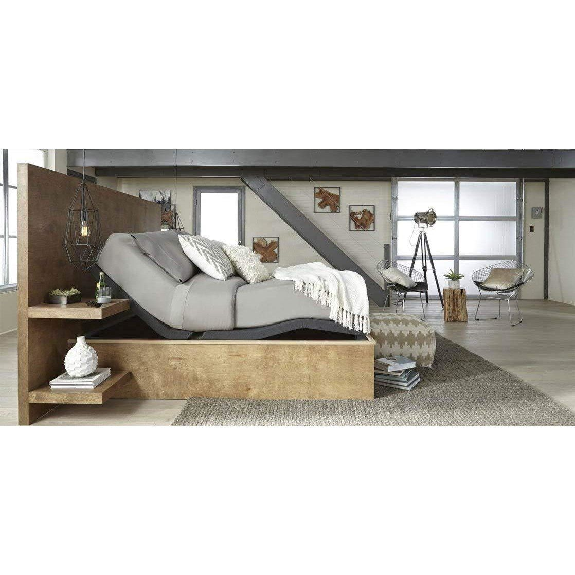 Ergomotion Contour Pure Silver Adjustable Bed Adjustable