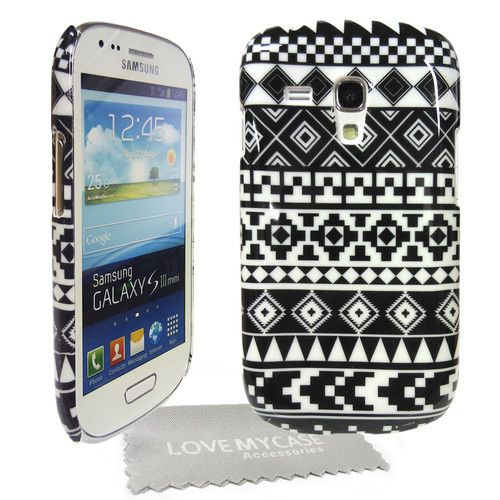 competitive price 08874 7876a BLACK & WHITE Tribal Navajo Print Hard Case for Samsung Galaxy S3 ...