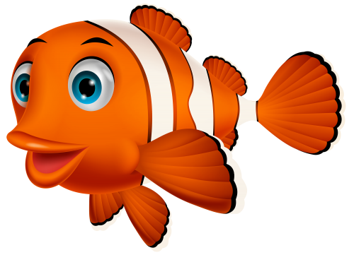 Clown Fish Png Clipart Clown Fish Clown Fish Cartoon Cartoon Elephant