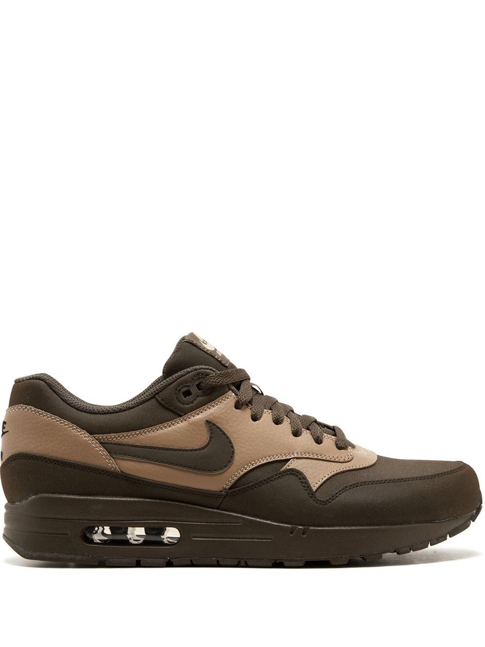 Nike Air Max 1 LTR Premium Sneakers | Nike air max, Brown