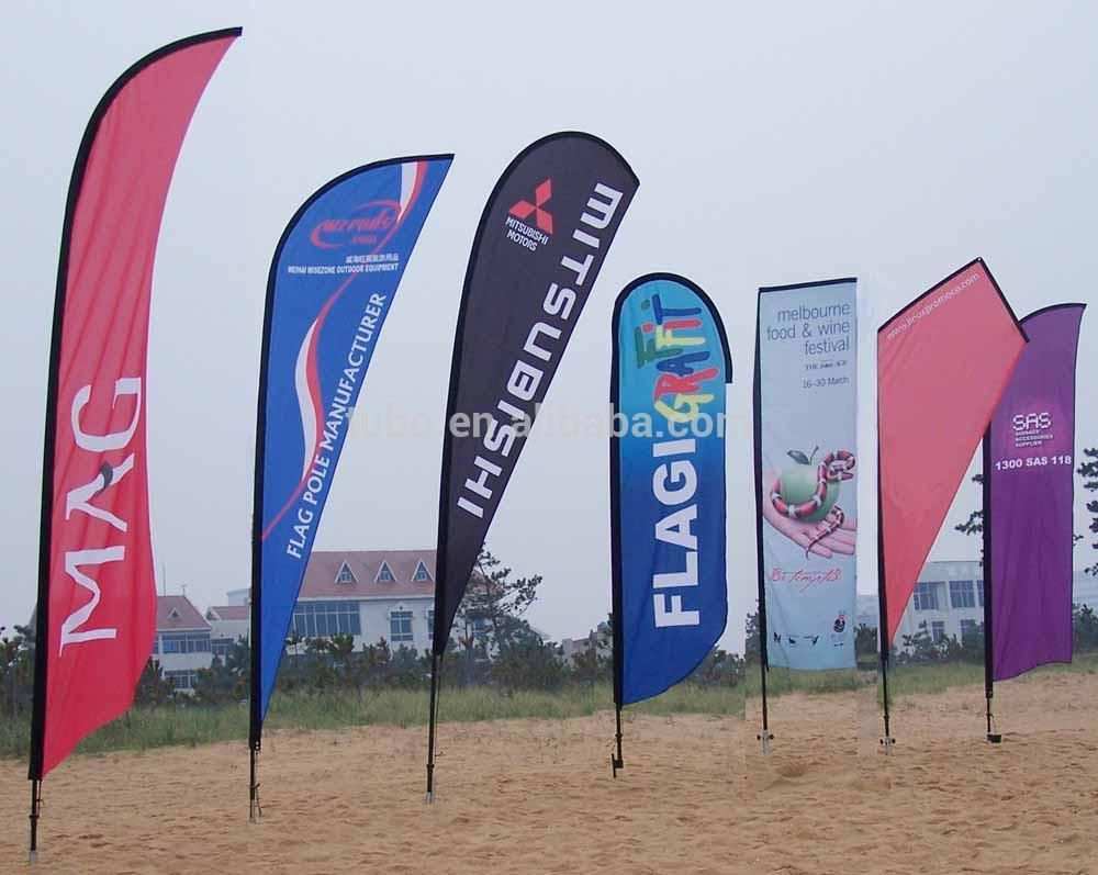 Full Color Outdoor Flag Banner Printing Custom Made Outdoor Flag Banner Printing Low Cost Outdoor Flag Banner Printing Beach Flags Outdoor Flags Feather Flags