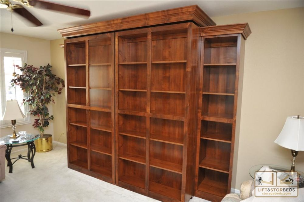 Murphy Library Beds For Your Home Murphy Bed Plans Murphy Bed