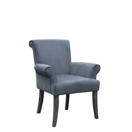 Best Home Upholstered Arm Chair Accent Chairs Blue Accent 400 x 300