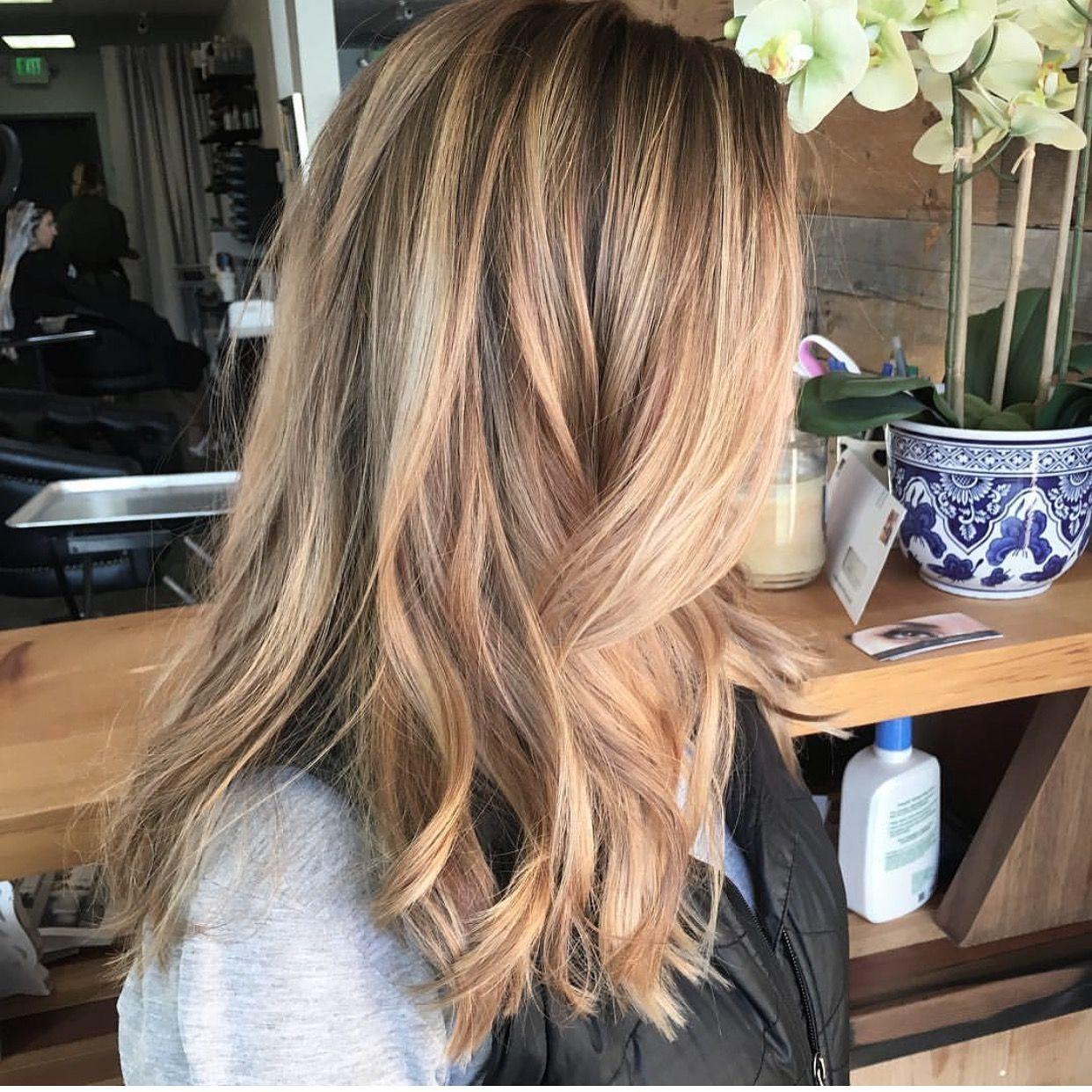 Balayage By Melissa At Studio Posh29 Salon In Sacramento Golden Blonde Haircolor Hair Color Long Hair Styles Balayage