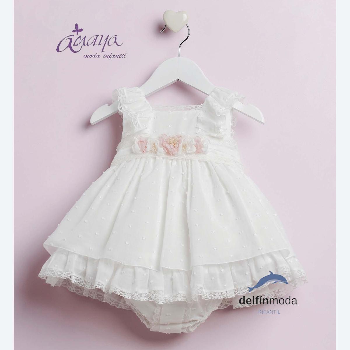 Modelos de vestidos para bautizo de bebes