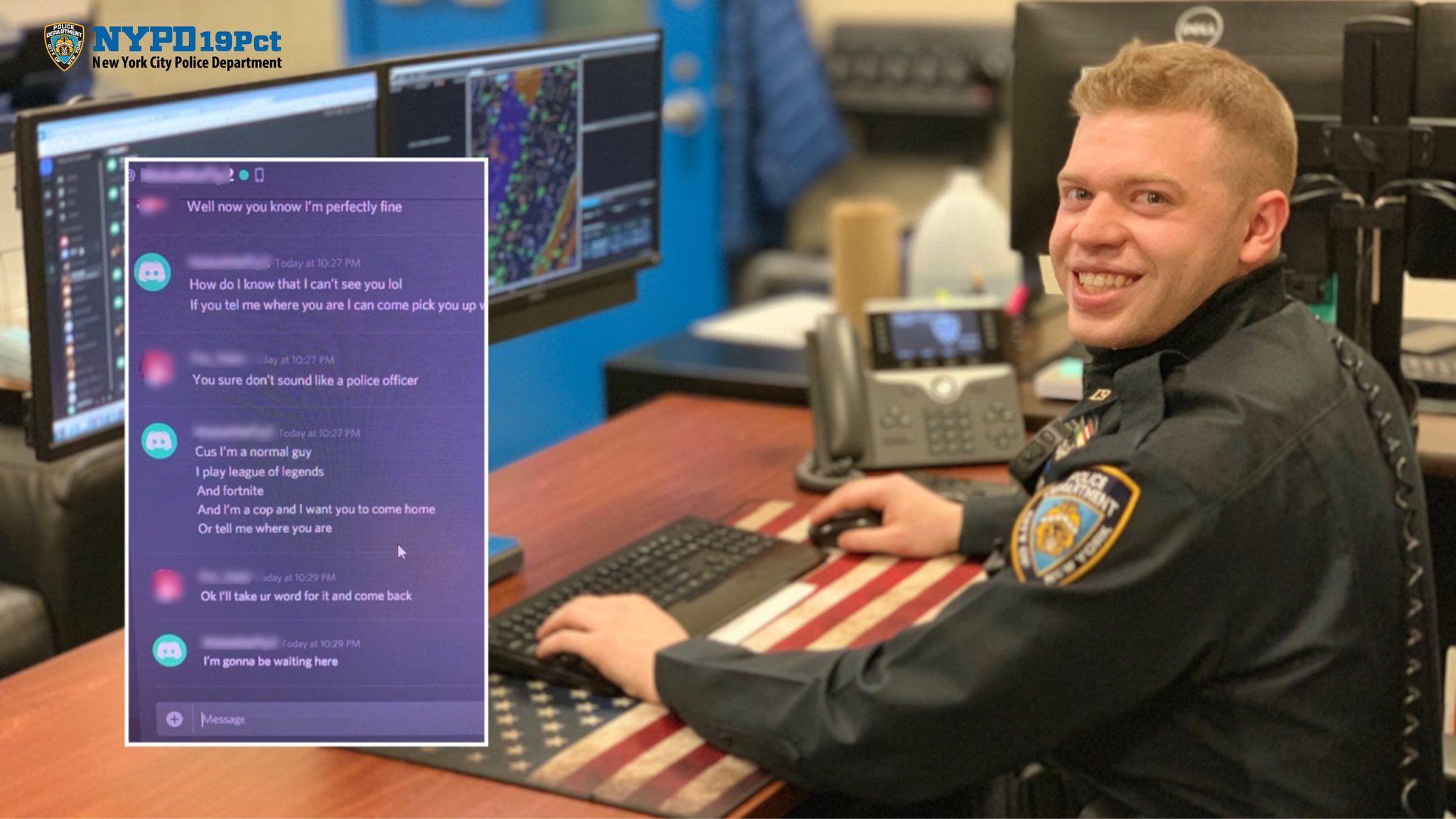 NYPD 19th Precinct on Game app, To catch a predator, I