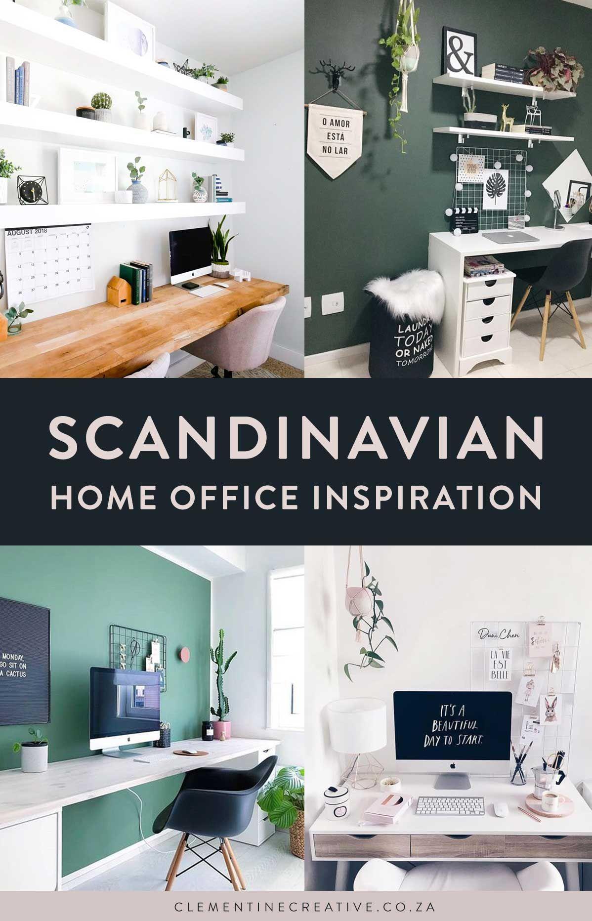 Scandinavian Workspace Inspiration 6 Modern Home Office Ideas Workspace Inspiration Office Inspiration Workspaces Modern Home Office