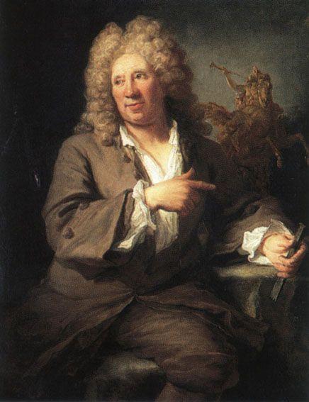 9/29- Happy Birthday, Charles Antoine Coysevox, French sculptor, 1640-1720.