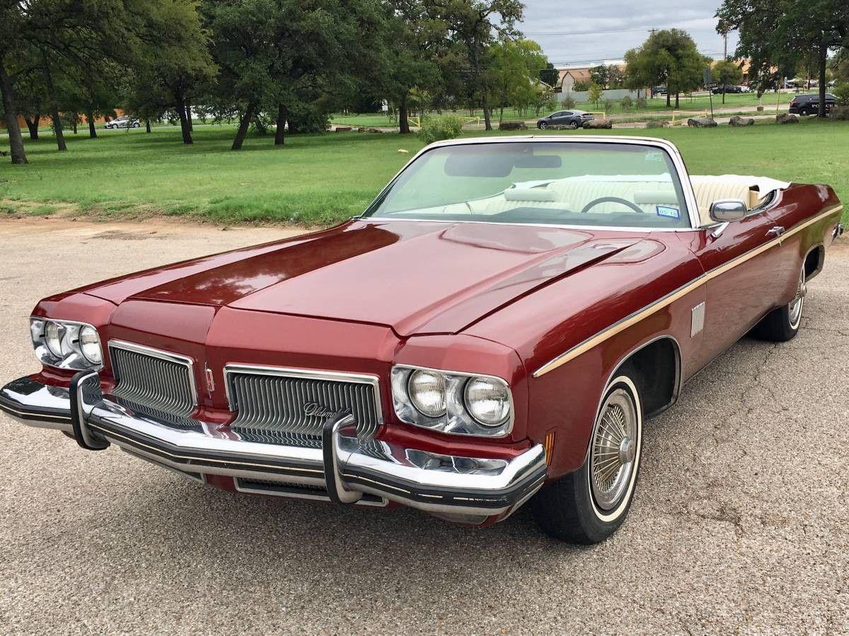Music History 1973 Oldsmobile Royale Convertible American
