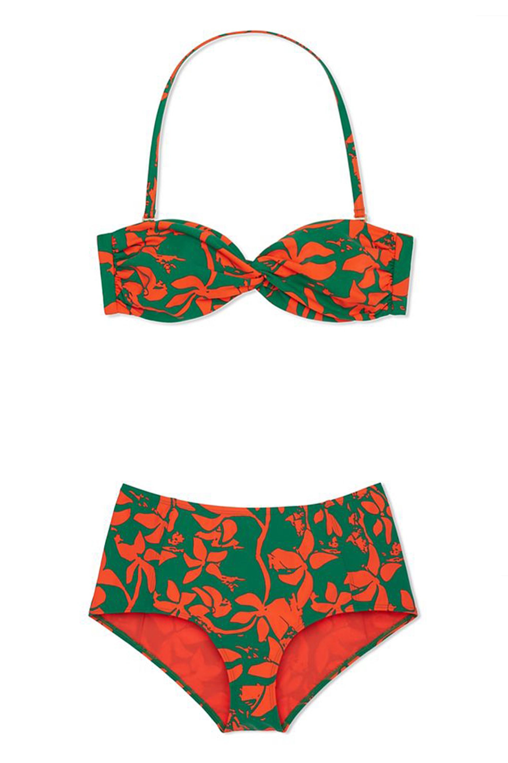 a450d02f9e 23 High-Waisted Bikinis Because You're Probably Ready for a Vacation. Tory  Burch Minorca Bandeau, $115; toryburch.com Tory Burch Minorca High-Waisted  Bottom ...