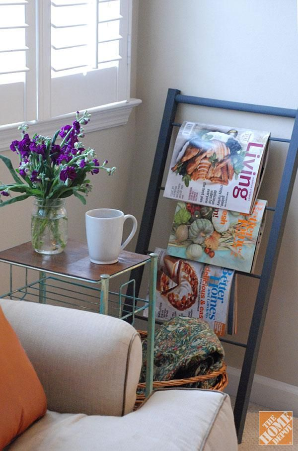 DIY Gift Ideas: Magazine Rack