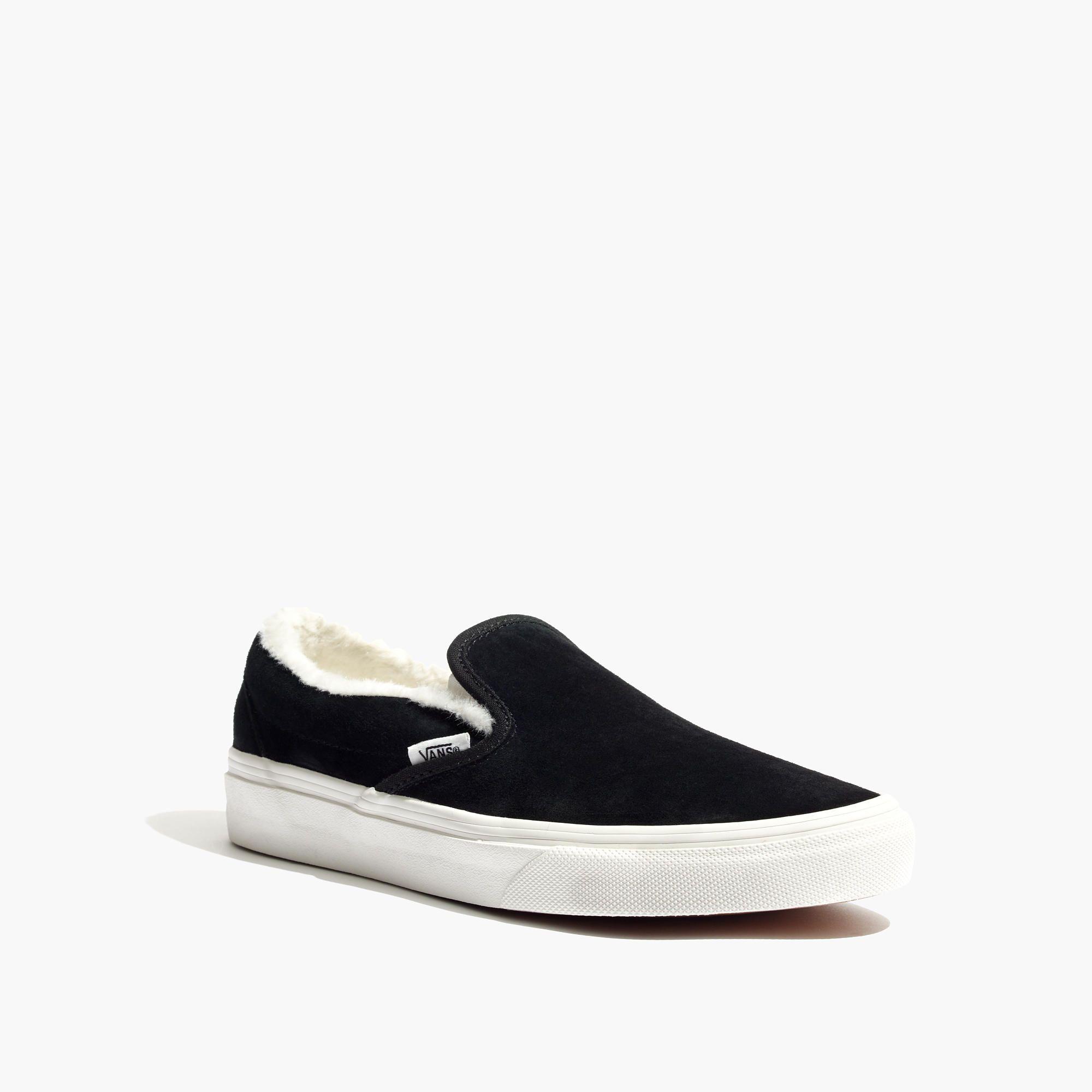 Vans® Unisex Weatherized Suede Slip-On Sneakers
