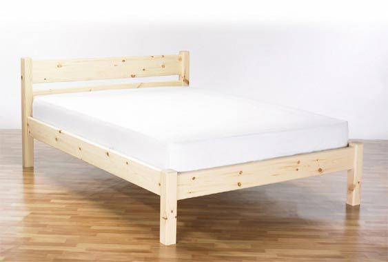standard wooden bed - Simple Wood Bed Frame