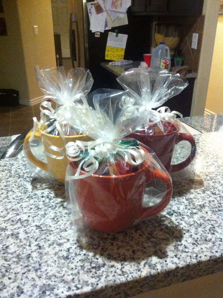 gifts to give for bridal shower games%0A Baby Bridal Shower Game Prizes  Dollar tree mugs with different kinds of  tea