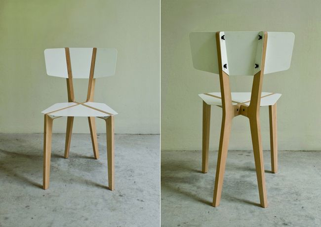 Naked (desnuda): silla desarmable de bajo costo | Pinterest | Sillas ...