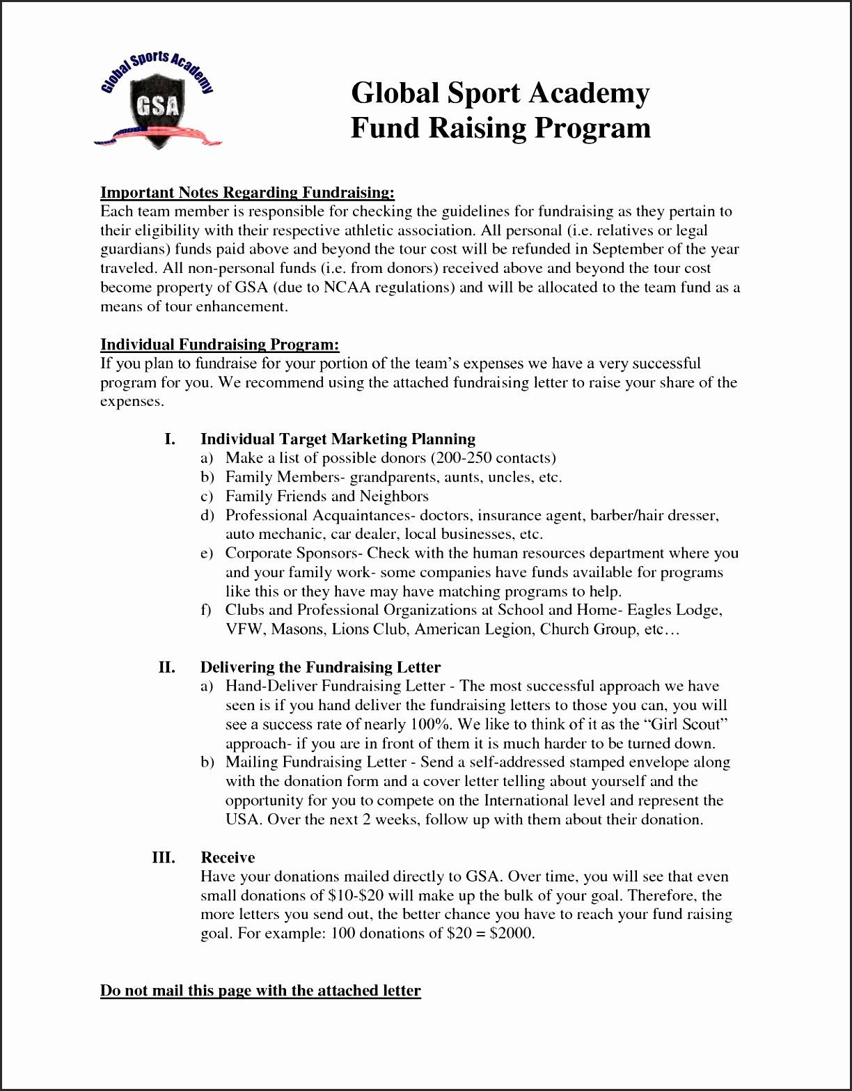 Fund Raising Letter Templates Inspirational 12 Sample Letter Soliciting Donations Proposal Templates Sponsorship Proposal Letter Templates