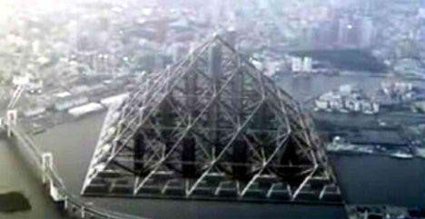 Shimizu mega city pyramid квартира лондон аренда