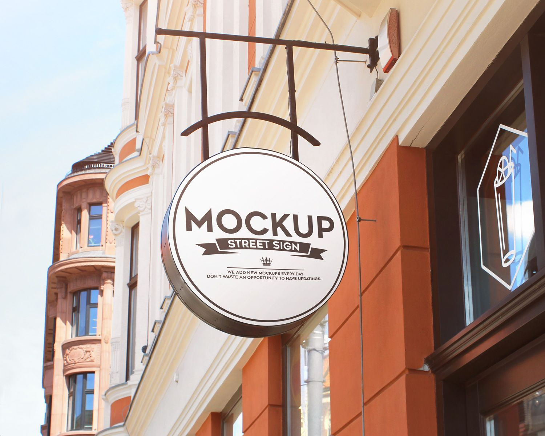 Street Sign Free Mockups Street Signs Free Mockup Mockup