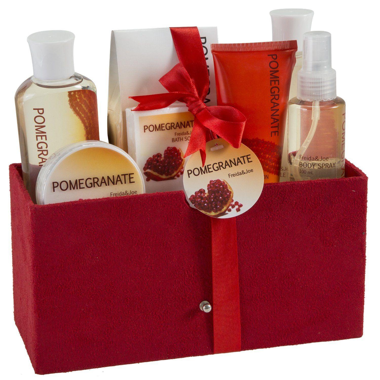 Pomegranate Bath Spa Gift Set Spa Gifts Set Spa Gifts Spa Gift Basket