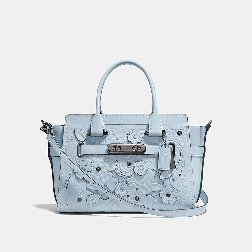Coach Swagger 27 With Tea Rose Tooling In 2020 Coach Swagger 27