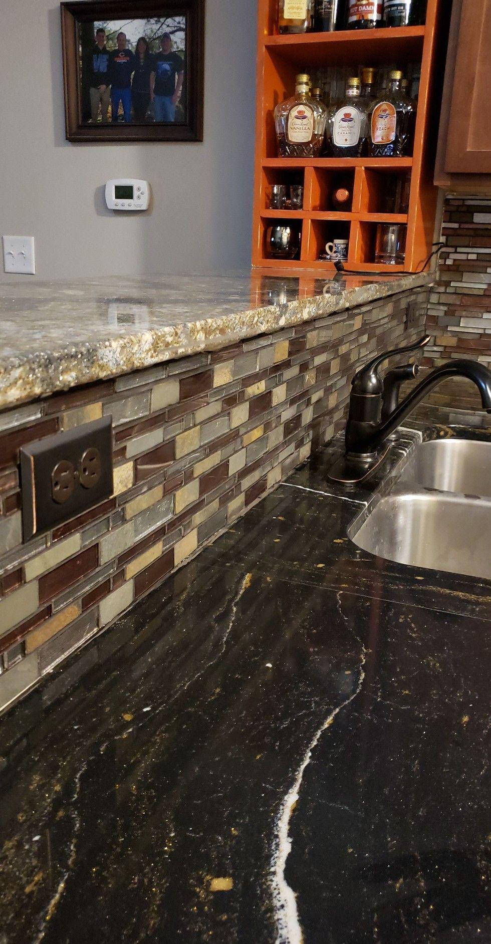 Cambria Golden Dragon Counter Top Cambria Harlech Bar Top Msi Stone Urbano Blend Tile Kitchen Remodel Countertops Kitchen