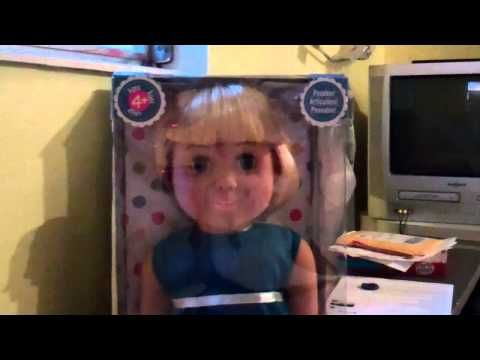 New Coat From Springfield Doll Collection! A One Minute Doll Chat With Karen Mom of Three - YouTube