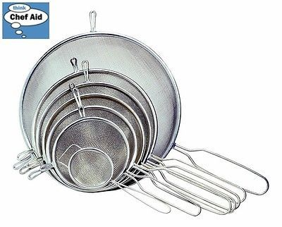 Chef aid #stainless steel strainer 12cm #diameter tea kitchen #accessory home new,  View more on the LINK: http://www.zeppy.io/product/gb/2/361211879167/