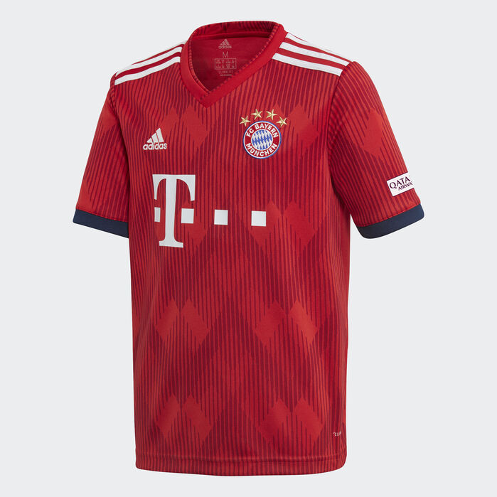 adidas Unisex Bayern Munich 18//19 Home Infant Replica Football Kit Red Sports