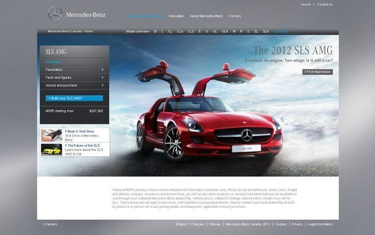 The Magnificent Mercedes Sls Gullwing Mercedes Benz Sls Amg