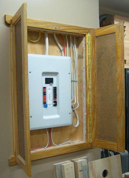 Circuit Panel Cover Doors Electric Box Breaker Box