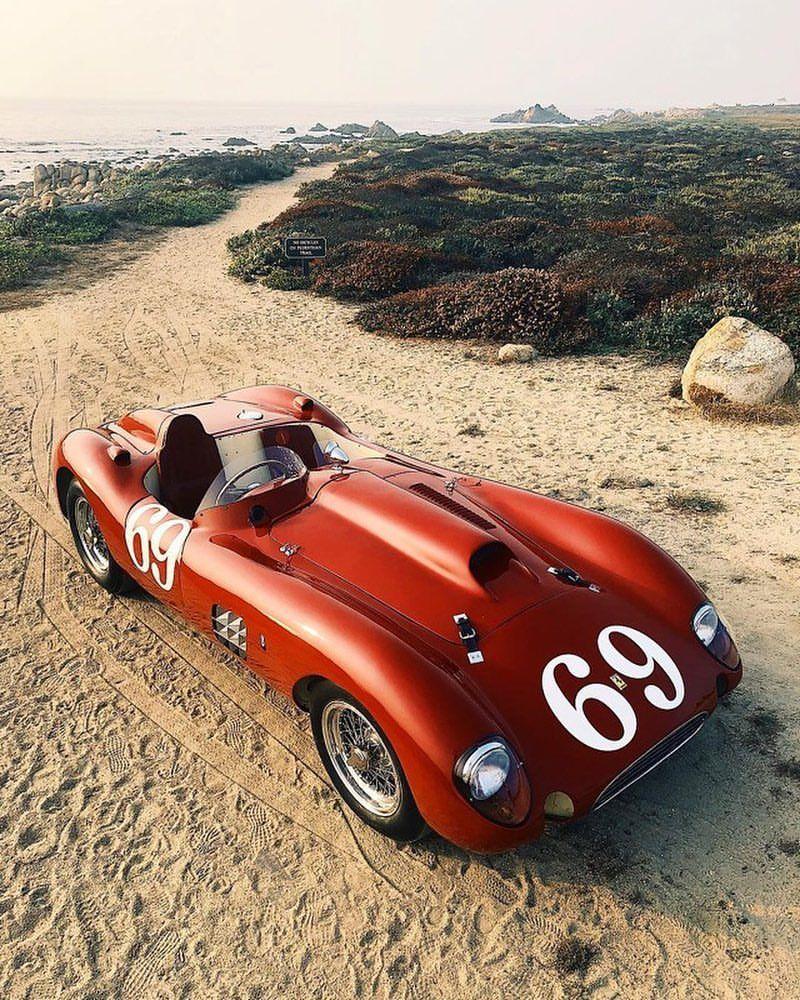 Spyder Sports Car: 1954 Ferrari 375 Plus Sutton Spyder /375 MM Scaglietti