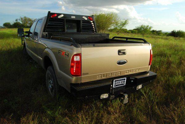 Ranch Hand Sport Back Bumper, Headache Rack System