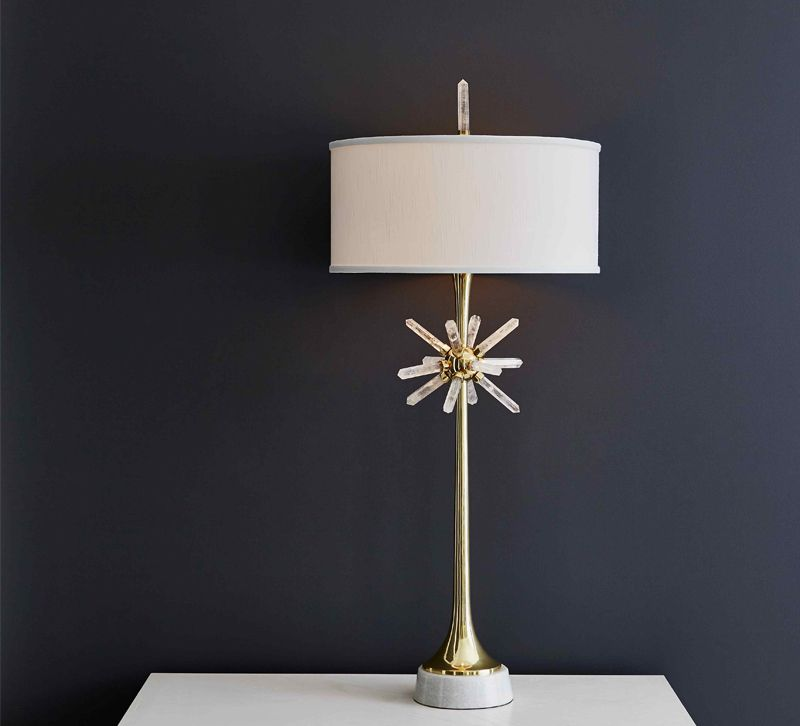 Handley Drive Quartz Star Table Lamp
