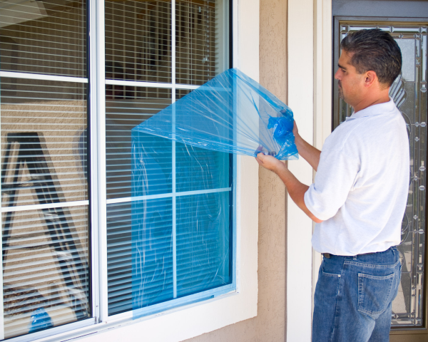 Window Protection- Great for protecting windows if you are ...