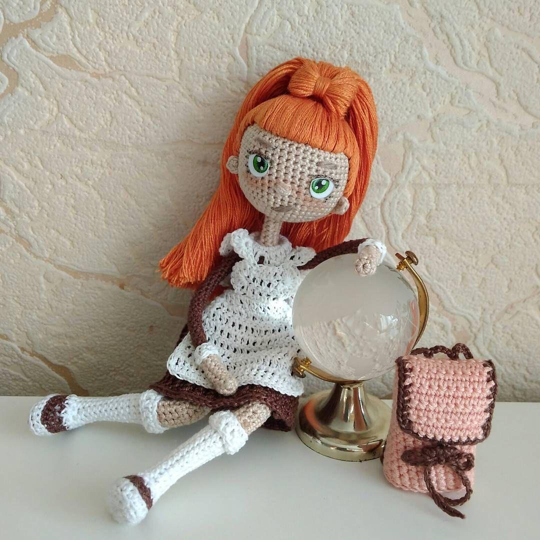 Школьница-к новому учебному году готова) | Amiguirumis y crochet ...