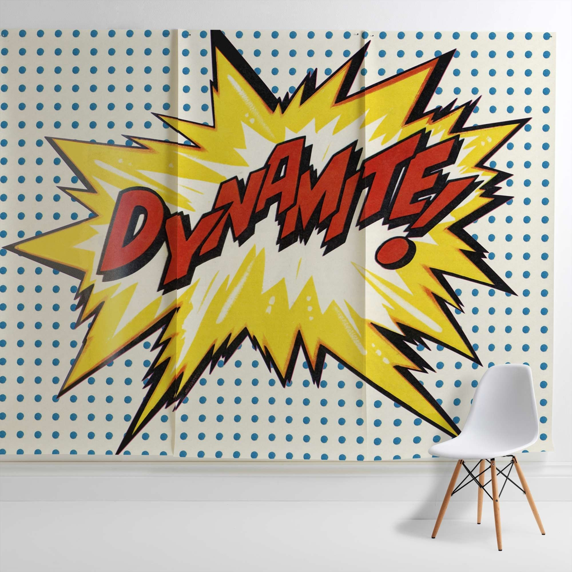 Dynamite Wall Mural from Surface View | i love retro | Wallpaper ...