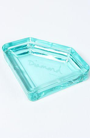The Diamond Ashtray In Blue