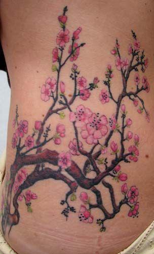 Love This Cherry Tree Tattoos Blossom Tattoo Cherry Blossom Tattoo