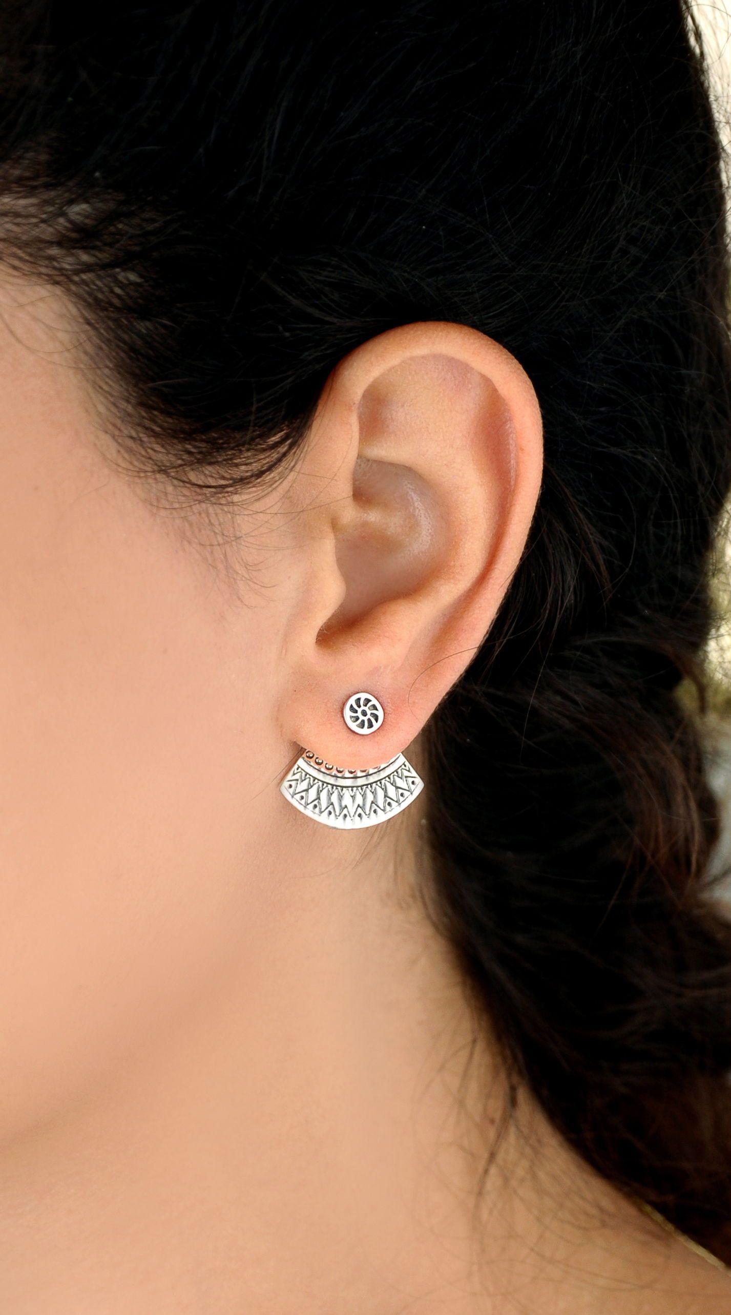 Fashion Boho Geometric Circle Dangle Drop Ear Stud Earrings Women Jewelry Gift