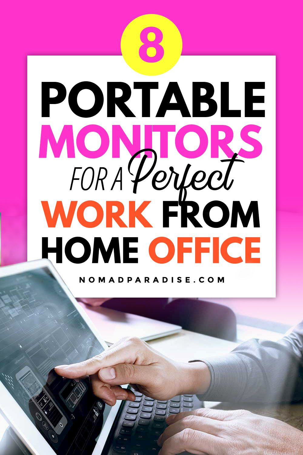 Work From Home Gear Best Portable Monitors Nomad