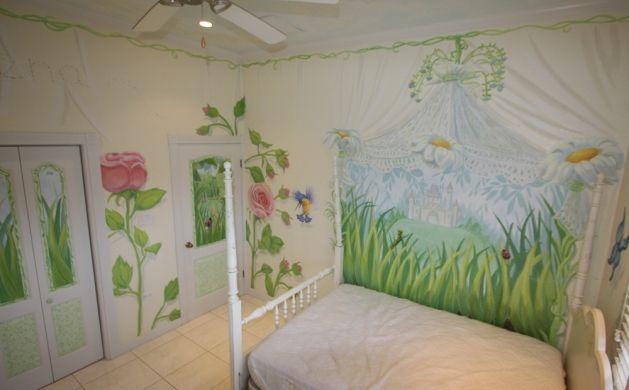 Fairy Bedroom by Hannah Cook--the CUTEST idea!