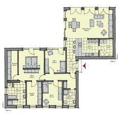 Fertighaus grundrisse bungalow  Bungalow Toulouse | Gemütliche Wohnzimmer | Pinterest | Toulouse ...