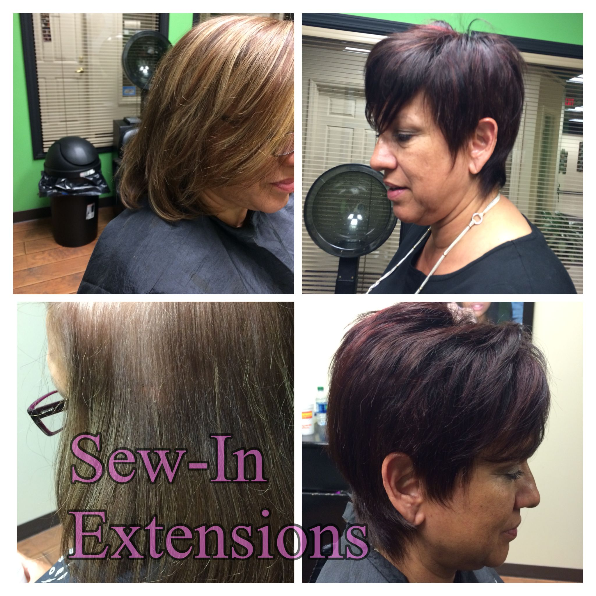 Hair Extension Transformations Long To Short With Color Can Make - Hairstyles for short hair extensions