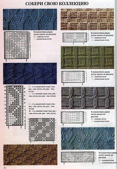 мужской шарф схемы увлечения и хобби узоры спицами вязание