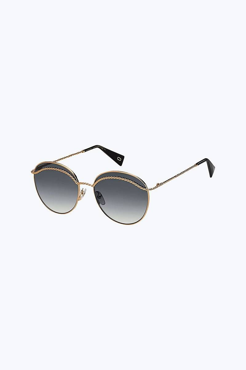 9d1e337085 Marc Jacobs Metal Twist Round Sunglasses